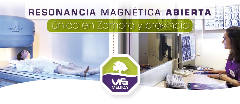 Resonancia magnética ABIERTA en VIS Médica